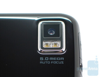 Camera on the back - Samsung Omnia II I8000 Review