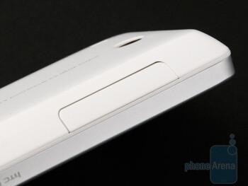 Volume rocker - HTC Hero Review