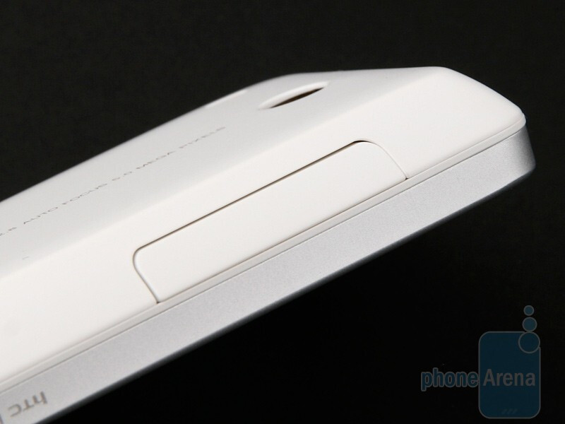 Volume rocker - HTC Hero Review