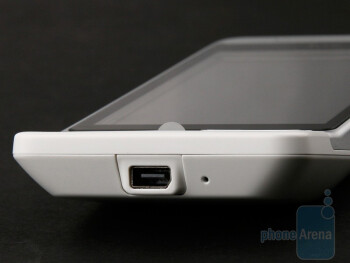 miniUSB port - HTC Hero Review