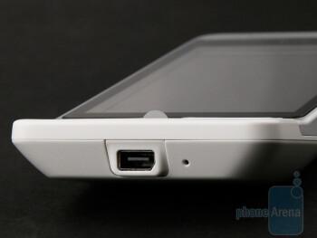 miniUSB port - HTC Hero Review