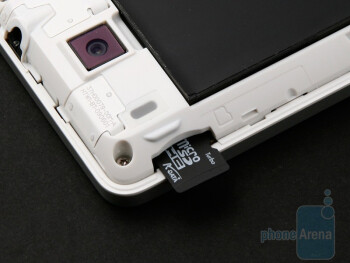 The microSD card slot - HTC Hero Review