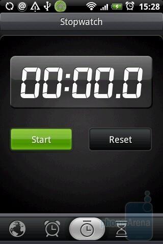 Chronometer  - HTC Hero Review