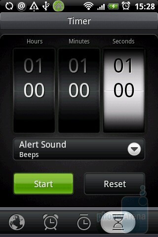 Timer - HTC Hero Review