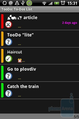 TooDo - HTC Hero Review