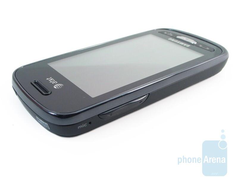 Left side - Samsung Solstice A887 Review