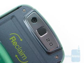 Camera - Back - Samsung Reclaim M560 Review