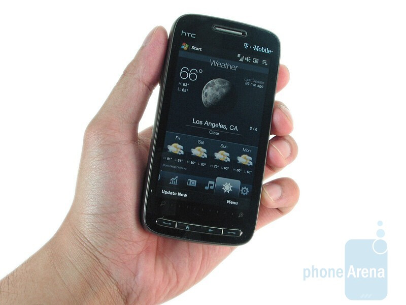 The HTC Touch Pro2 relies on plastic for its casing - HTC Touch Pro2 for T-Mobile Review
