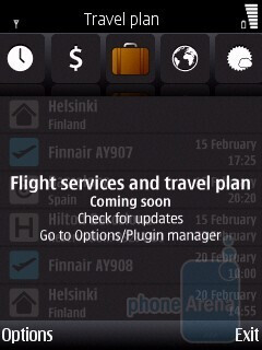 The word traveler app of Nokia E55 - Nokia E55 Review