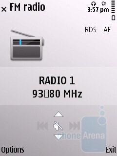 FM radio - Nokia E55 Review