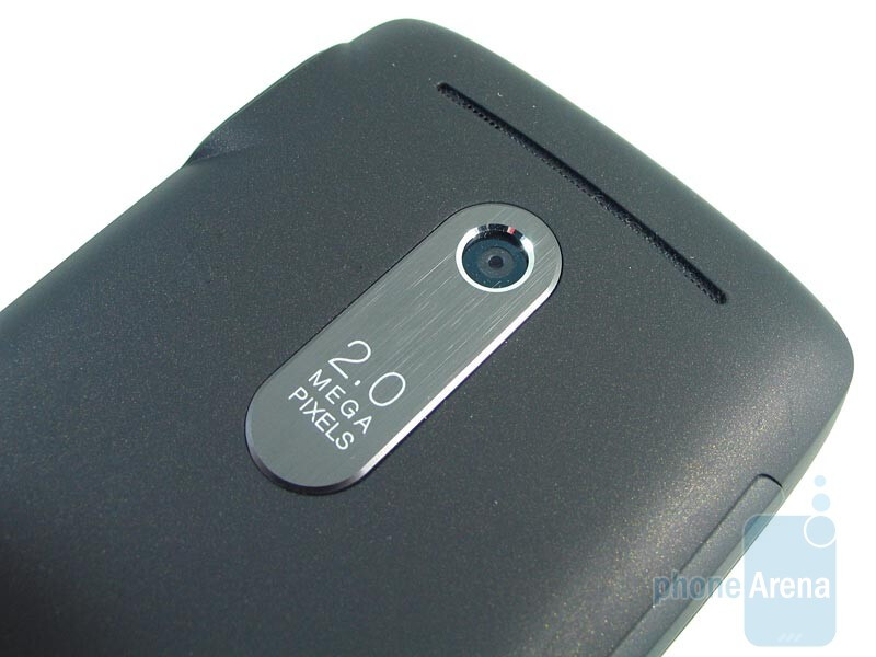 The 2-megapixelcamera sits squarely onthe back - T-Mobile Dash 3G Review