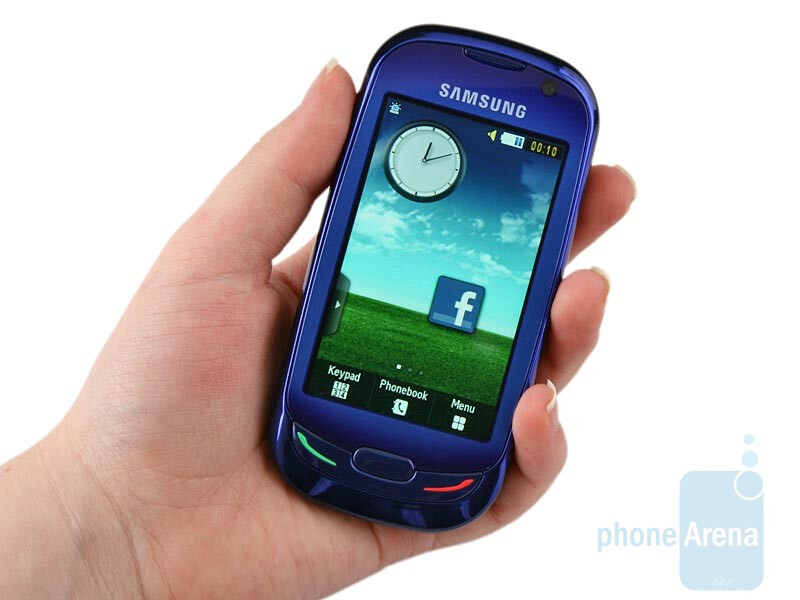Samsung Blue Earth S7550 is made from recycled plastic - Samsung Blue Earth S7550 Preview