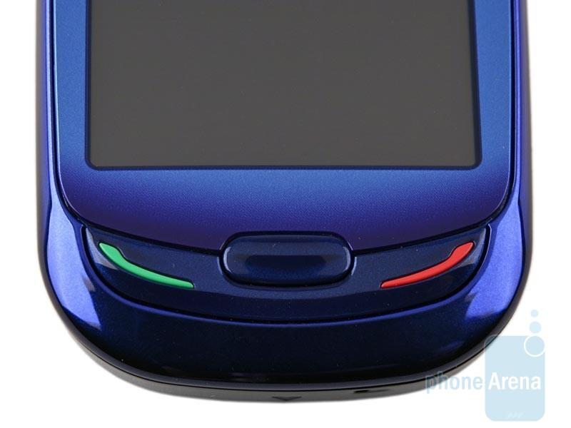 Main keys - Samsung Blue Earth S7550 Preview