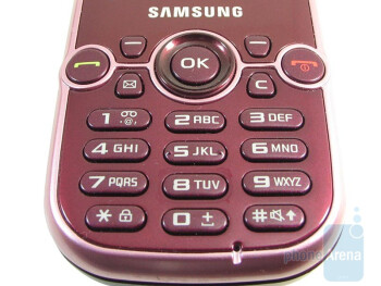 Keypad layout - Samsung Gravity 2 T469 Review