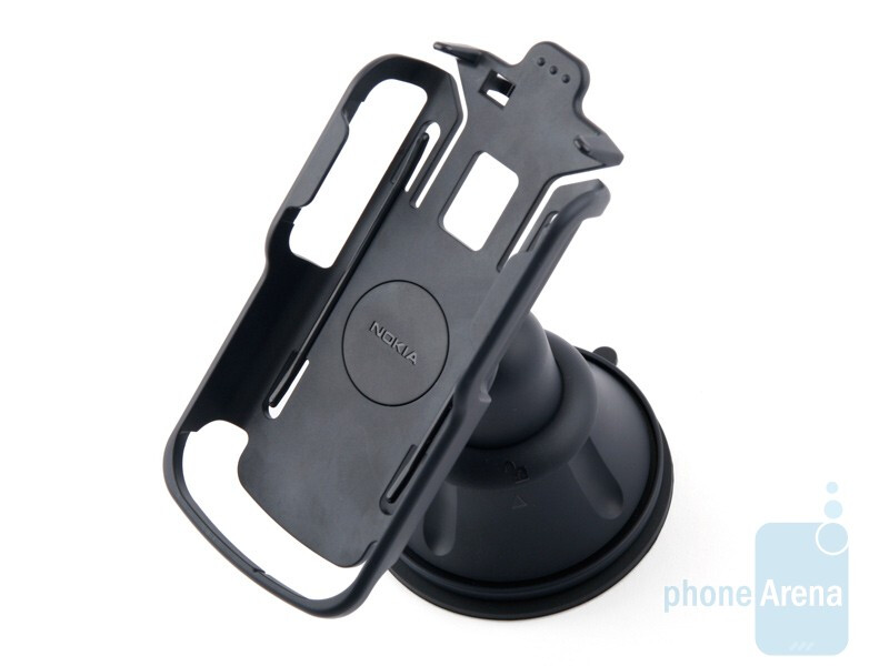 The car stand is well made and will allowyou to comfortably position the Nokia 6710 Navigator in your car - Nokia 6710 Navigator Review