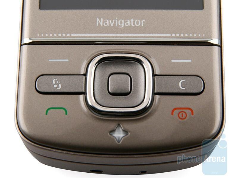 Navigation keys - Nokia 6710 Navigator Review