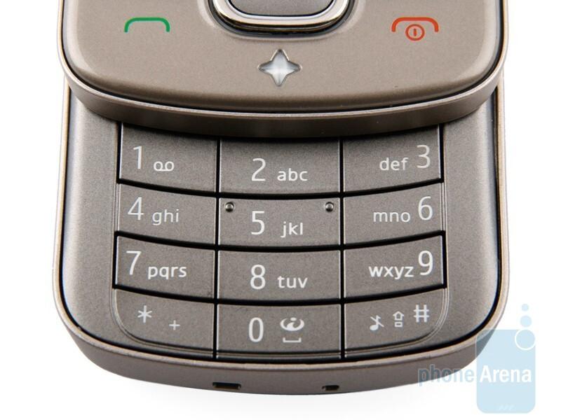 Keypad - Nokia 6710 Navigator Review