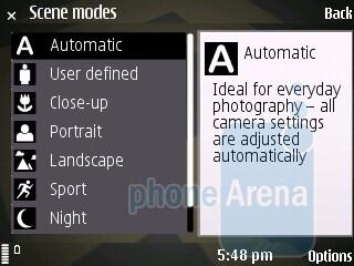 Camera interface of Nokia 6710 Navigator - Nokia 6710 Navigator Review