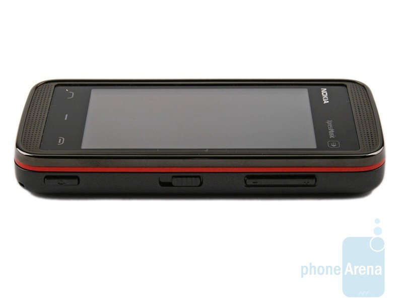 Left side - Nokia 5530 XpressMusic Review