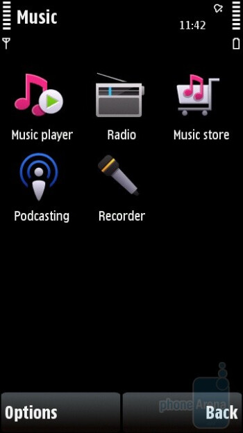 The music player of Nokia 5530 XpressMusic doesn't deliver anything new to surprise you - Nokia 5530 XpressMusic Review
