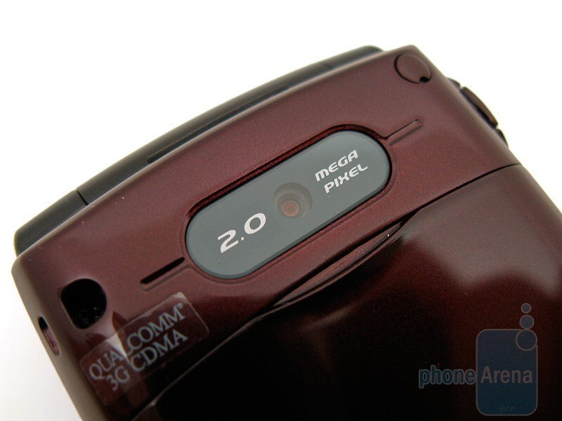 The 2MP camera on the back - Verizon Wireless Escapade WP8990VW Review