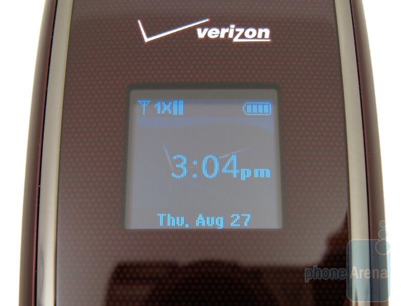 External display - Verizon Wireless Escapade WP8990VW Review