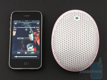 Sony Ericsson MS500 produces a feeble sound, but its ergonomic shape is likeable - Sony Ericsson MS500 Review