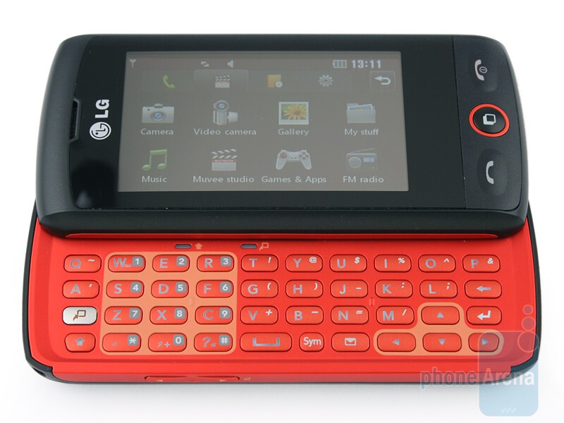 LG GW520 comes with full QWERTY keyboard - LG GW520 Review