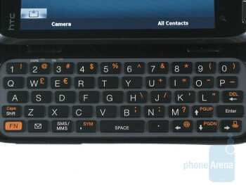 The QWERTY keyboard - HTC Touch Pro2 for Sprint Review