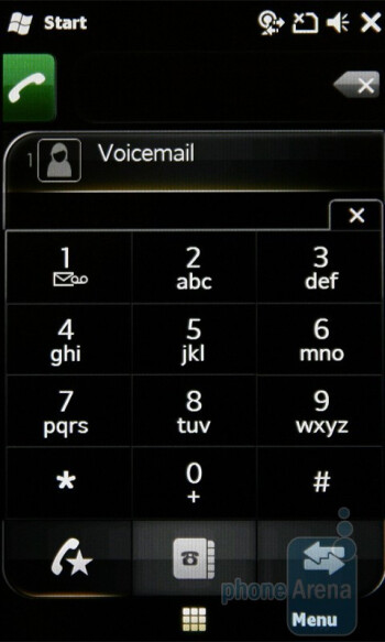 Phonebook - Sony Ericsson XPERIA X2 Preview