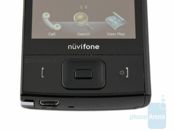 The hardware keys - Garmin-Asus nuvifone M20 Preview