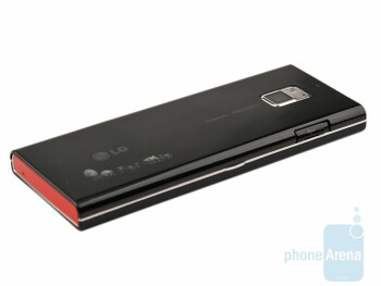 The back side of the LG New Chocolate BL40 - LG New Chocolate BL40 Preview