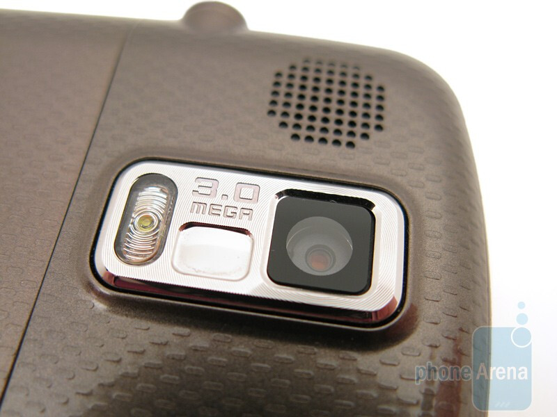The buttons along the sides of the Samsung Rogue U960 - Samsung Rogue U960 Review