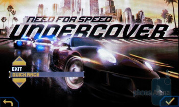 Need for Speed - Samsung Rogue U960 Review