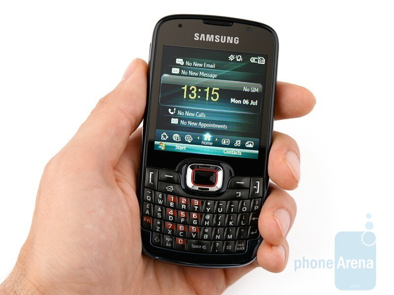 Samsung OmniaPRO B7330 is pleasing to work with - Samsung OmniaPRO B7330 Preview
