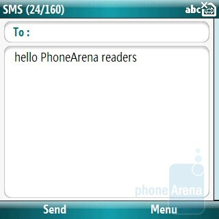 SMS - Samsung OmniaPRO B7330 Preview