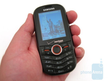 The plastic body of the Samsung Instensity U450 feels somewhat cheap - Samsung Intensity U450 Review