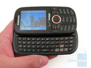 Samsung Intensity U450 Review
