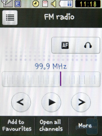 FM Radio - Samsung Corby S3650 Preview