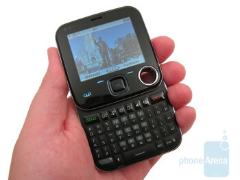 While closed, the Nokia 7705 Twist is overall one of the smallest phones currently available through Verizon - Nokia 7705 Twist Review