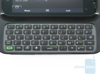 The 5-row QWERTY keyboard of Verizon's Touch Pro2 is just as good as ever - HTC Touch Pro2 for Verizon Wireless Review
