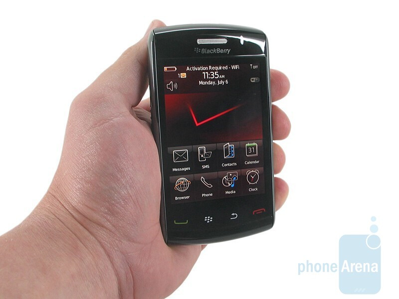 Visually there isn't a lot of difference between the 9530and the newer RIM BlackBerry Storm2 9550  - RIM BlackBerry Storm2 9550 Preview