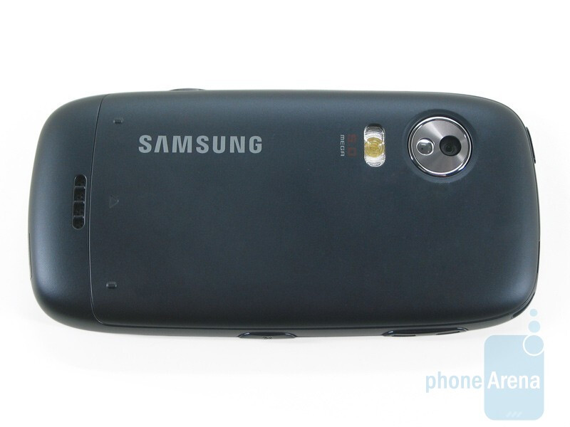 The back side - Samsung Instinct HD Review