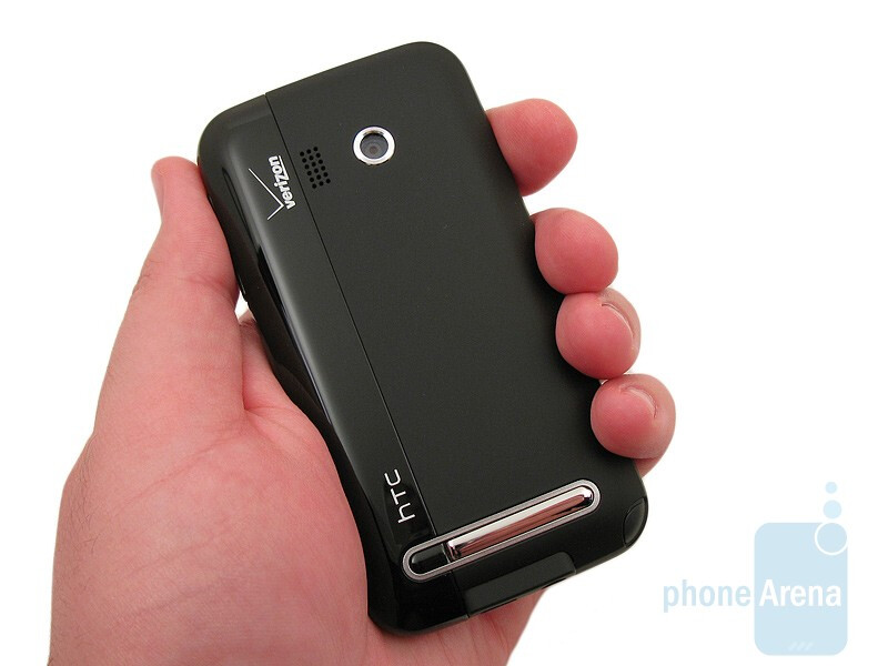 The HTC Imagio XV6975 feels comfortable to hold in your hand - HTC Imagio XV6975 Review