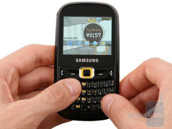 Samsung CorbyTXT B3210 is coming in a classic, candybar form factor  - Samsung CorbyPRO B5310 & CorbyTXT B3210 Preview