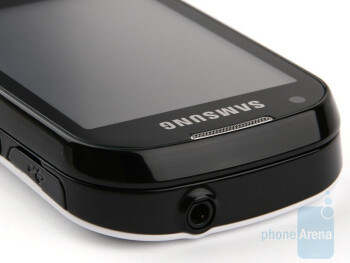 The top side - Samsung CorbyPRO B5310 & CorbyTXT B3210 Preview