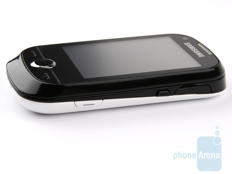 The left and right sides - Samsung CorbyPRO B5310 & CorbyTXT B3210 Preview