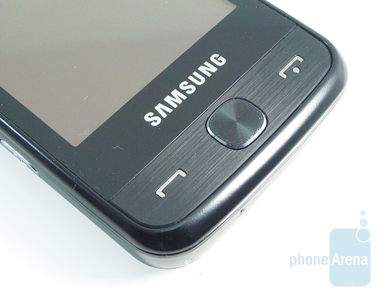 Buttons on the front - Samsung Pixon12 M8910 Review