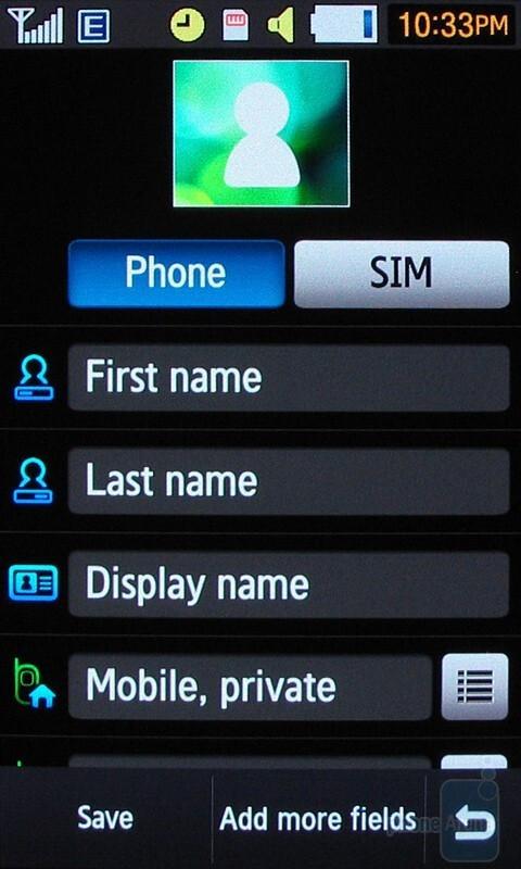 Making calls with the Samsung Pixon12 M8910 - Samsung Pixon12 M8910 Review