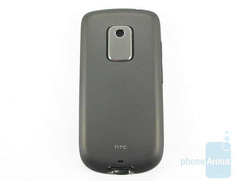 The bottom, the top and the back sides of the HTC Hero CDMA - HTC Hero CDMA Review